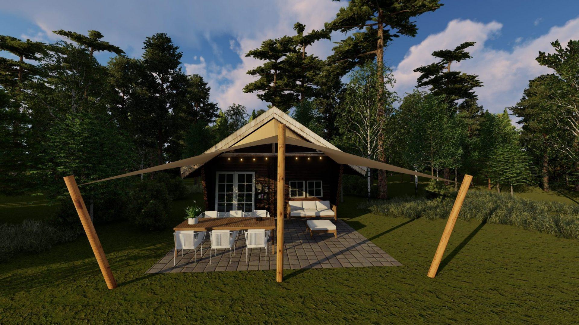 EPIC Living Garden Shelters - Butchart 3D 3