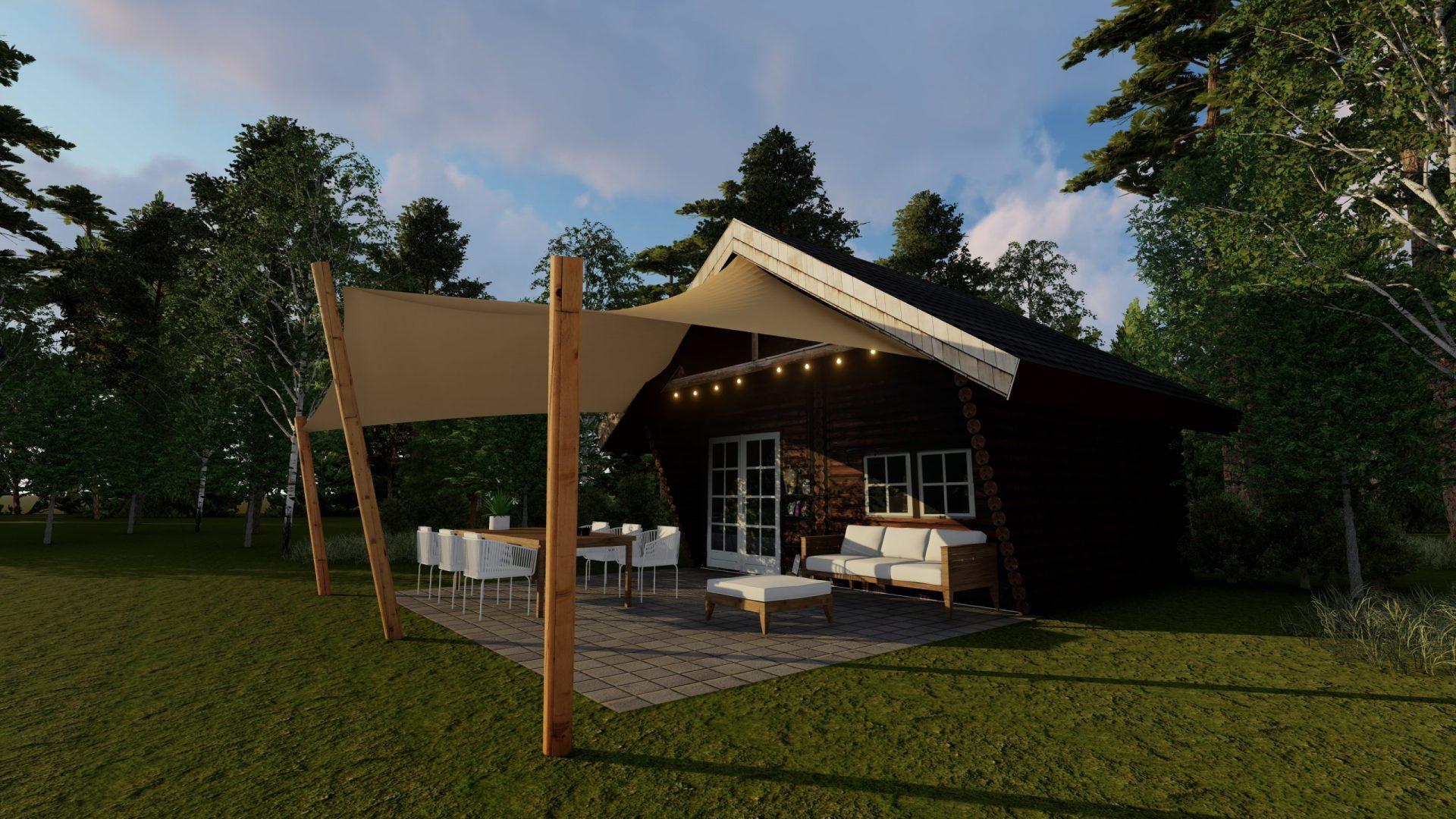 EPIC Living Garden Shelters - Butchart 3D 1