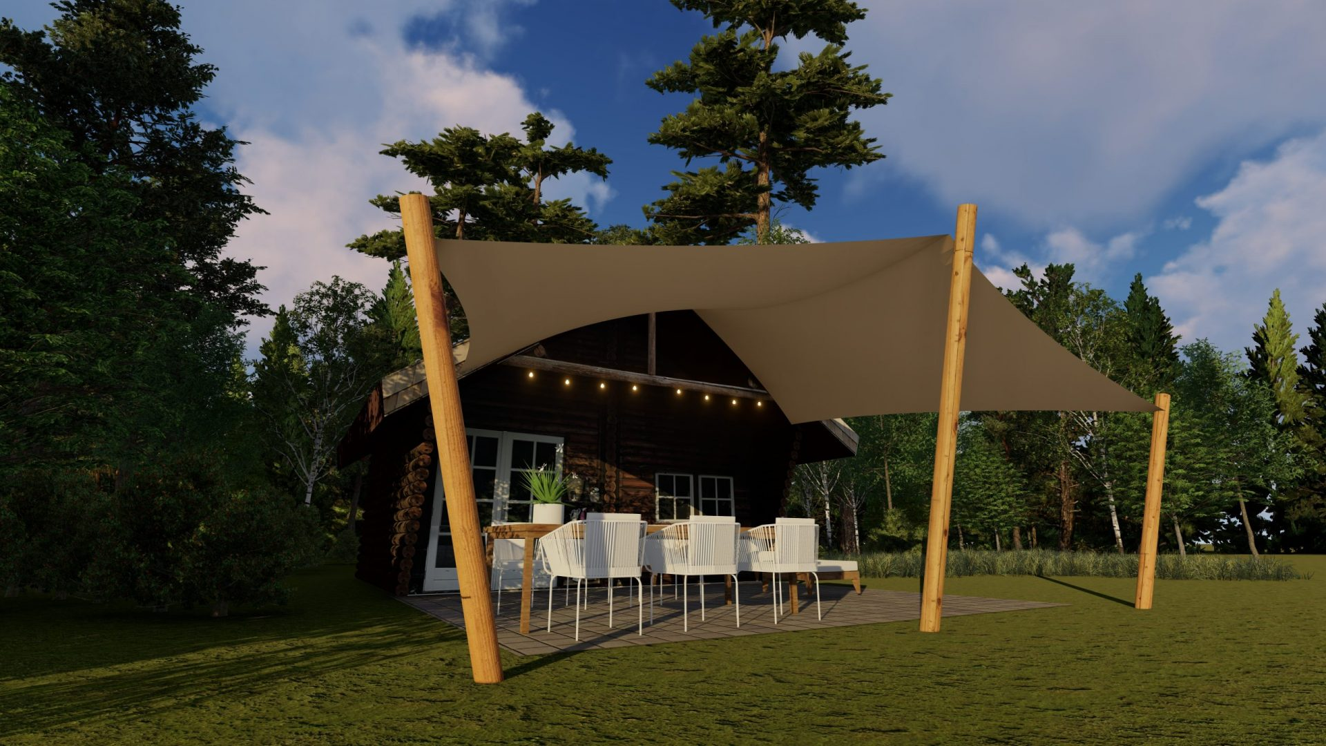 EPIC Living Garden Shelters - Butchart 3D 2