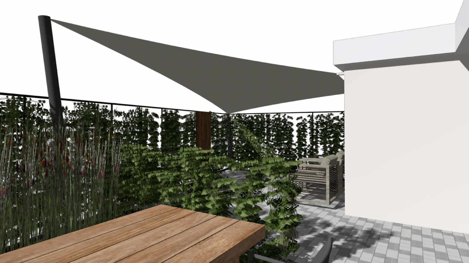 EPIC Living Garden Shelters - Giverny 3d 1