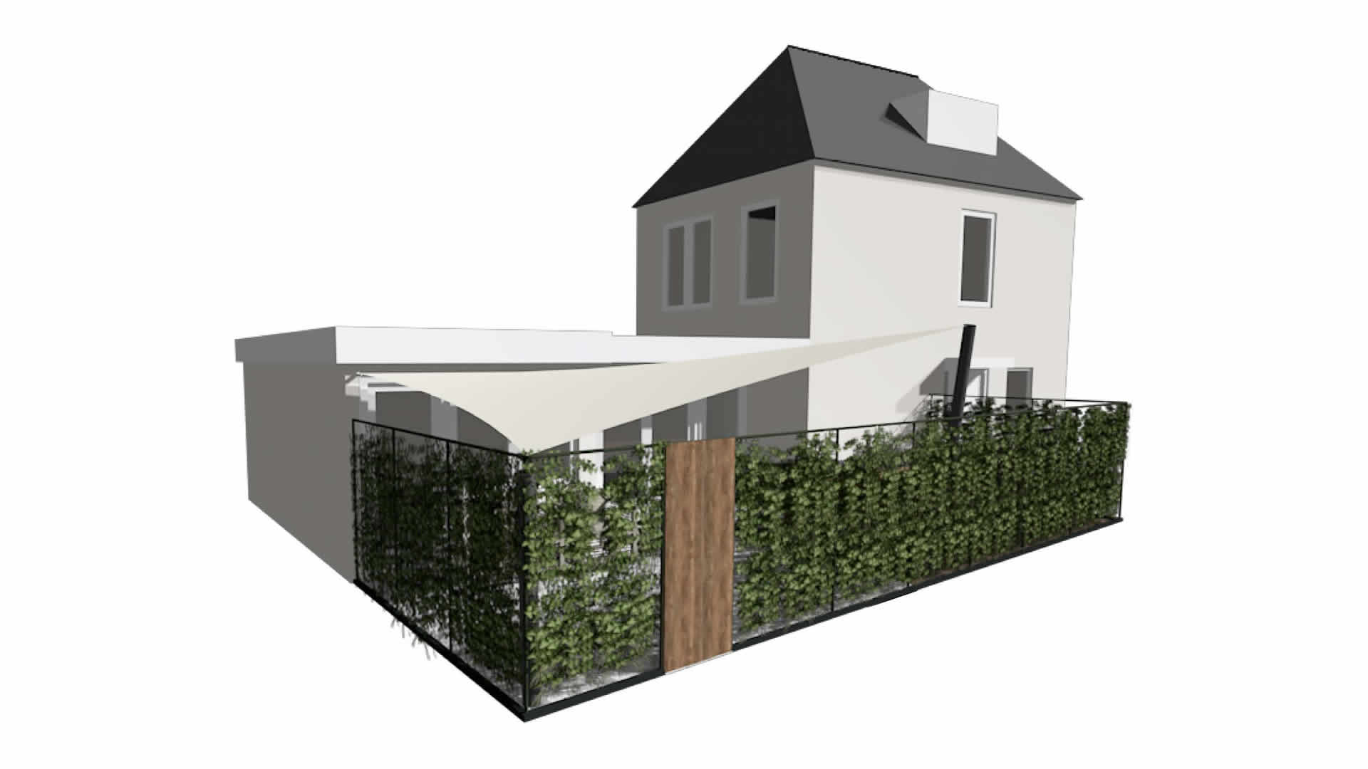 EPIC Living Garden Shelters - Giverny 3d 2