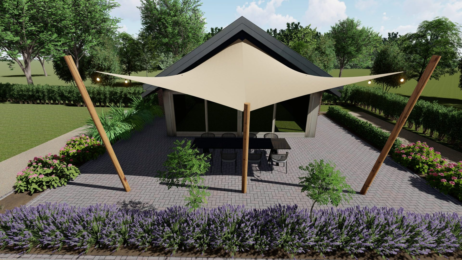 EPIC Living Garden Shelters - Lisse 3D 1