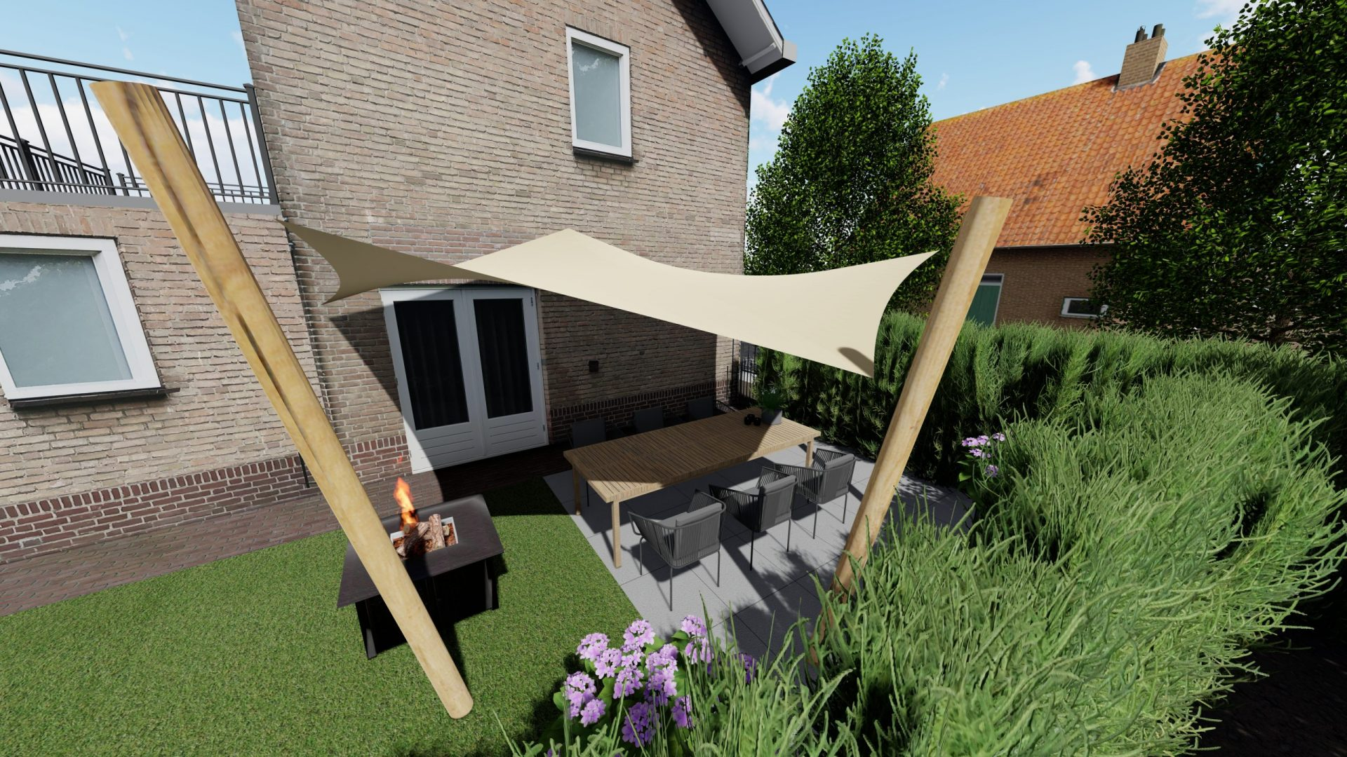 EPIC Living Garden Shelters - Versailles 3D 1