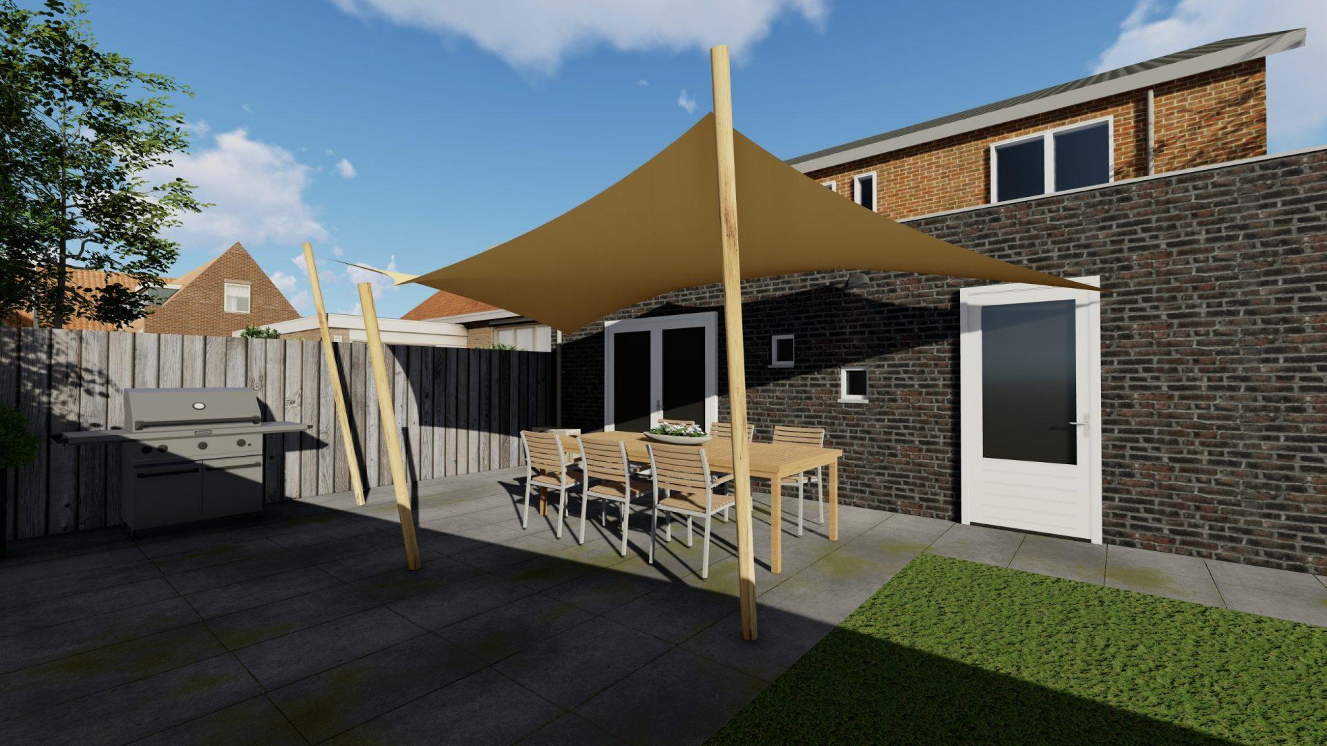 EPIC Living Garden Shelters - Boboli 3D 3