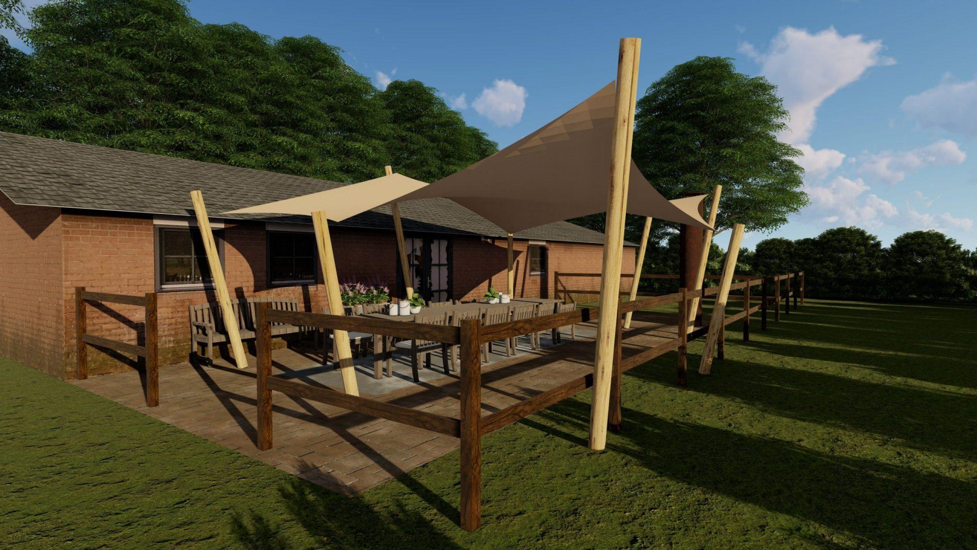 EPIC Living Garden Shelters - Biltmore 3D 2