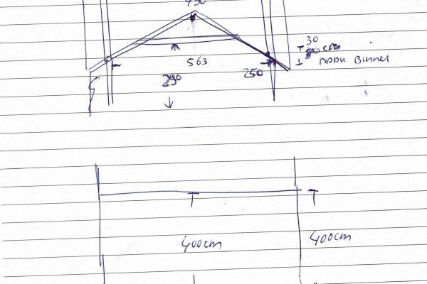 EPIC Living Garden Shelters - Butchart tekening