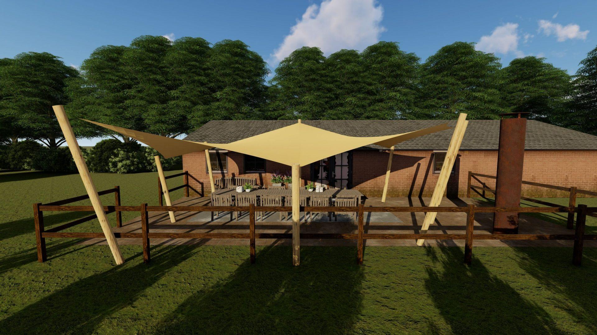 EPIC Living Garden Shelters - Biltmore 3D 1